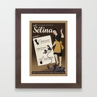 Sélina (version française) Framed Art Print