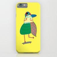 Skateboarding Owl. iPhone 6 Slim Case