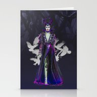 Mistress Of All Evil Stationery Cards