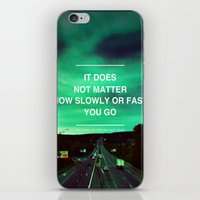 Don't Stop iPhone & iPod Skin