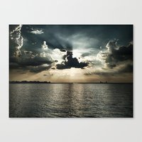 Eclipsed Canvas Print