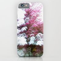 Abstract Pink Flowers 3 iPhone 6 Slim Case