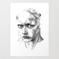 THE SPACEINVADERS 7# Art Print