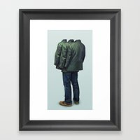 Surrounded Framed Art Print