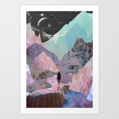 The Mountains of Lemuria Art Print