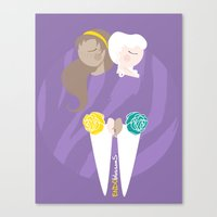 Teenage Endometriosis Awareness Canvas Print
