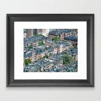 Back Bay , Boston  Framed Art Print