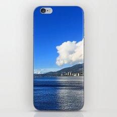 Blue vs. White iPhone & iPod Skin