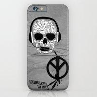 Love' skull -  a collaboration between Sam Guilhen and Gwenola de Muralt - iPhone 6 Slim Case