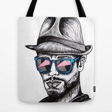 Reflective Rave Tote Bag