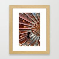 Lock Framed Art Print