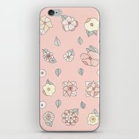 Flores iPhone & iPod Skin