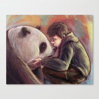 Sweet Giant Canvas Print