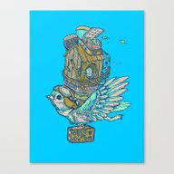 Bird Migration Canvas Print