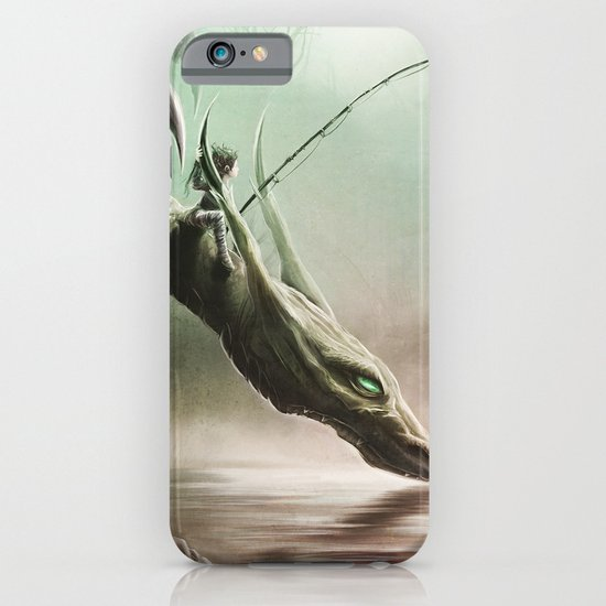Fishing On The Drinking Dragon iPhone & iPod Case