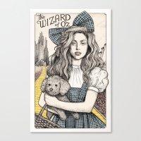 There's No Place Like Ho… Canvas Print