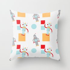 Robots Throw Pillow