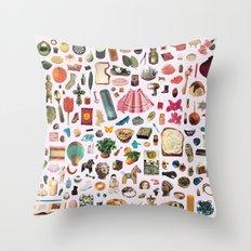 CATALOGUE Throw Pillow