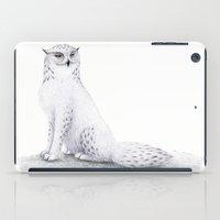 Snowy Fowl II iPad Case