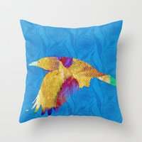 The Rook #VIII Throw Pillow