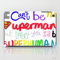 superhuman iPad Case
