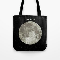 The Moon  Tote Bag