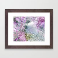 Fantasy woods Framed Art Print