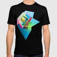 Galaxies Mens Fitted Tee Black SMALL