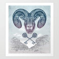 The Ram (Aries) Art Print