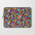 Sea pattern 02 Laptop Sleeve