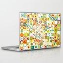 Retro Quarters + Rings Laptop & iPad Skin