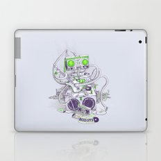 Hippy robot Laptop & iPad Skin