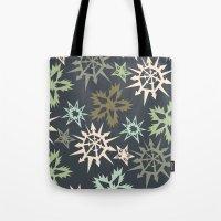 unlikely snowflakes Tote Bag
