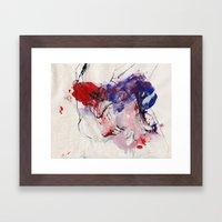 Digital Color  Framed Art Print