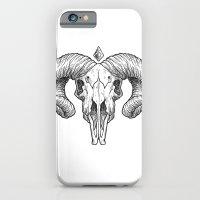 Skull Sketch iPhone 6 Slim Case