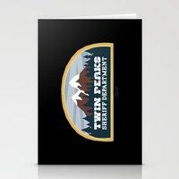 Twin Peaks Sheriff Depar… Stationery Cards