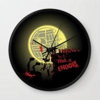 300 Ewoks Wall Clock