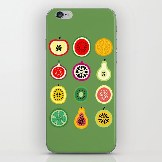 Banca de Frutas iPhone & iPod Skin