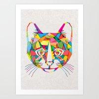 RainboCat Art Print