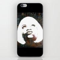 Blonde Diva iPhone & iPod Skin