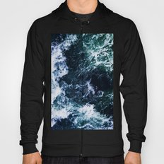 Wild ocean waves Hoody