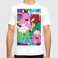 Cherry II Mens Fitted Tee White SMALL