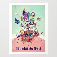 Marche Color Art Print