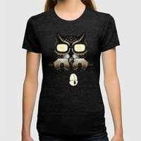 Gaming Owl Womens Fitted Tee Tri-Black SMALL