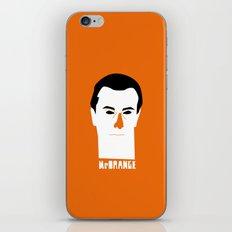 Mr Orange iPhone & iPod Skin