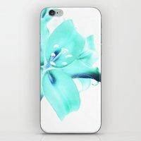 Neon Petals iPhone & iPod Skin