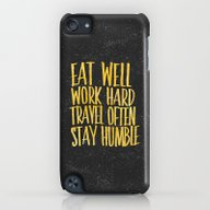 Eat Well. Travel Often. … iPod touch Slim Case