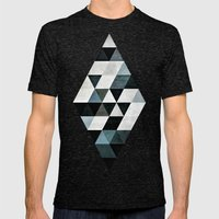 Pyly Pyrtryt Mens Fitted Tee Tri-Black SMALL