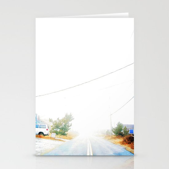 Walk the line Stationery Card