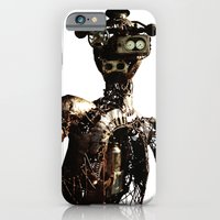 robot iPhone & iPod Cases featuring robot by Кaterina Кalinich
